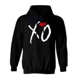 Coruja hoodies on-line-Alto Alto New XO OWL ouro Unisex Hoodie Hoody encapuzados Xo OVOXO Xo The Weeknd Thur Drake Thicken velo