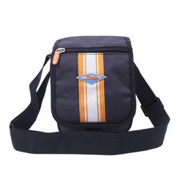 Borsa a tracolla arancione online-Newcom piccola borsa a tracolla singola borsa a tracolla singola per uomo donna sport all'aria aperta impermeabile nero arancio
