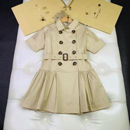 vestidos estilo princesa para niñas Rebajas Venta al por menor de una pieza Niños niñas Vestidos de estilo de Inglaterra Vestido de princesa de moda para niña ropa para niños