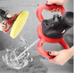 cobre rca plugs Desconto Novo portátil do cimento de argamassa de cimento Troweling Machine Tools Mixer personalizado Poder Construção
