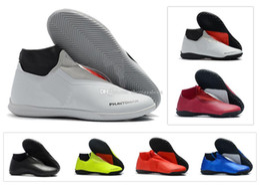 Argentina Phantom New Vision Academy Df Ic Tf Vsn para hombre Zapatillas de fútbol con botines de tacón alto para interiores Tamaño de zapatos US6.5-11 Suministro