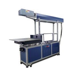 100w 150w 180W 600 mm RF tube tube de verre co2 laser machine de marquage Machine laser dynamique grande zone pour grande taille sur non métallique ? partir de fabricateur