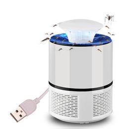 Canada USB électrique moustique tueur lampe piège insectes volants lutte contre les parasites Zapper Repeller LED Night Light Home Salon anti-moustique cheap mosquitos repellent lamp Offre
