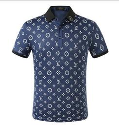 polo design Promotion LVdesigners L polos hommes vêtements T-shirts d'été à manches courtes calssic haute qualité Business Casual tops tee B03