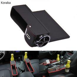 1 Pz Universale Car Seat Laterale Indietro Stoccaggio Elastico Mesh Bag Net Phone Holder Pocket Organizer