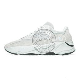 Kutu Ile 2019 Motosiklet Ayakkabı Kanye West 700 V2 Dondurulmuş Sarı Tasarımcı Sneaker Analog Erkekler Koşu Ayakkabıları Siyah Spor Sneaker Boyutu 40-46 nereden ayakkabı askı perçinleri tedarikçiler
