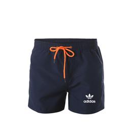 2019 cravate étiquettes en gros Adia Brand Man Séchage Rapide Shorts Hommes Shorts Plage Pantalon Court Hommes Shorts Pantalon Haute qualité concepteur de maillots de bain d'été pantalon de survêtement