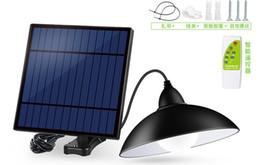 Lustres lustres on-line-Lustre de Luz Solar Com Controle Remoto Retro Abajur Solar Lâmpada LED 3 M Cabo Pendurado Luz Para Jardim Ao Ar Livre Quintal Lâmpada