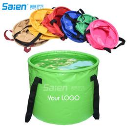 Secchio online-Secchio pieghevole 30L, secchio pieghevole portatile per acqua pieghevole per spiaggia, viaggi, campeggio, pesca, giardinaggio, lavaggio auto