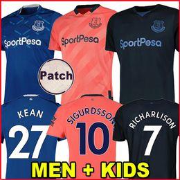 Camisa alaranjada dos meninos on-line-camisa de futebol Everton 19 20 afastado camisa de futebol laranja KEAN EVERTON RICHARLISON SIGURDSSON ANDRÉ GOMES KEANE BERNARD WALCOTT CENK TOSUN