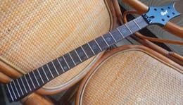 Высший сорт незавершенных деталей электрогитары EVL-K4 Guitar Neck 24 лад, палисандр Гриф -17-11 cheap electric guitar neck rosewood fingerboard от Поставщики электрогитара шея палисандр гриф