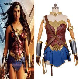 Liga De La Justicia De La Mujer Maravilla Mujer Maravilla Cosplay Traje De Superhéroe Traje Disfraz De Halloween Vestido Para Las Mujeres Niños