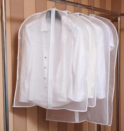 Nova Casa Roupas Garment Suit Cover Sacos À Prova de Poeira Protetor De Armazenamento Transparente À Prova de Poeira Receber Saco Terno Capa de