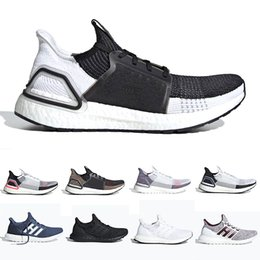e754a66b92a0b Newest Cloud White Black Ultra boost 2019 Ultraboost mens Running shoes  Refract Clear Brown Primeknit 4 sports trainer men women sneakers