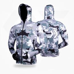 Ув одежда онлайн-2018  Fishing Clothing Summer Long Sleeve Sunscreen Breathable Quick Dry Clothes Anti-uv Ultrathin Fishing Shirt
