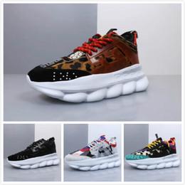 calçado de peso esporte Desconto Cadeia de Reação Sneaker formadores homens mulheres sapatilha peso leve cadeia de borracha unida sapatos de marca de luxo designer de moda esporte sapato 36-46