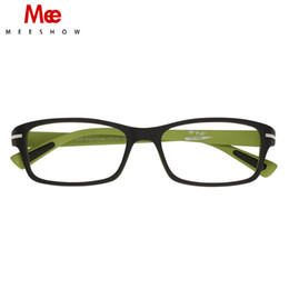 774f8260f7c MEESHOW High Quality men women optical frame TR90 Ultra light Elegant  Eyeglasses Lunettes Custom lens Prescription Glasses9356