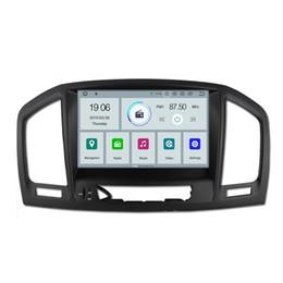 "Rádio para carro opel gps on-line-COIKA 8 ""Quad Core Android 9.0 Sistema Auto Car DVD Para Opel Insignia Vauxhal Chevrolet Vectra Buick Regal Com 2G + 16G GPS BT Rádio Navi"