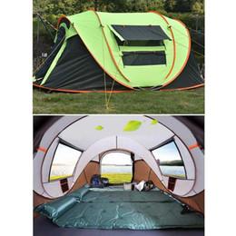 tenda inflável de cubo Desconto Totalmente automática Instant-Up Tent impermeável UV Outdoor Camping 3-4 Pessoa Caminhadas Picnic Pára-sol para Pesca Parque de Campismo