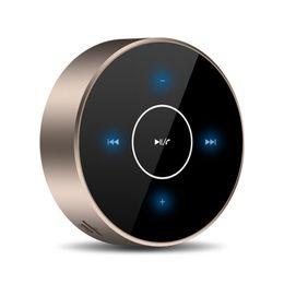 telas de chão Desconto Sem Fio Bluetooth Speaker A6 Tela de Toque Portátil Subwoofer Speaker Estéreo AUX Cartão De Áudio TF MP3 Player de Música com Microfone para Smartphone PC