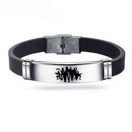 Quinzaine Jeu Battle Royale Bracelet En Acier Inoxydable Réglable Silicone Bracelets Cadeaux pour Enfants Hommes bracelet ? partir de fabricateur