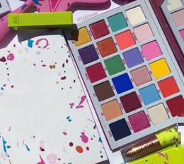 2019 palette ombretto 24 colori 2019 i più nuovi trucco J Eye Palette 24 colori della gamma di colori opaca dell'ombra di occhio di trasporto libero palette ombretto 24 colori economici