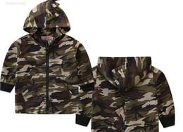 Neue Junge Kinder Kleidung Dinosaurier Camouflage Reißverschluss Jacke Langarm Ins Frühling Herbst Kinder Gute Designer Hoodies Größe 80-130 cm von Fabrikanten