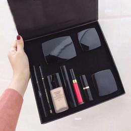 Recharger en Ligne-Produits cosmétiques de qualité supérieure, maquillage pour débutant de neuf pièces, maquillage de base de rouge à lèvres, imperméable et durable, livraison rapide et sans affranchissement