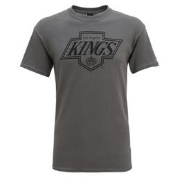 2479cbee3 LA KINGS LOS ANGELES NHL ICE HOCKEY RETRO 88 97 LOGO MENS OFFICIAL T-SHIRT  Funny free shipping Unisex Casual Tshirt top on sale