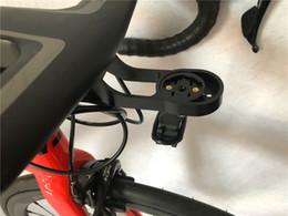porte bidon carbone vert Promotion Nouveau Modèle Haute Qualité Vélo Vélo Guidon Ordinateur Support de Montage Pour Garmin Gopro Vélo Lumière Aero Vélo Tige