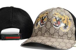 modelos 3d personalizados Desconto Alta qualidade osso Curvo viseira Casquette boné de beisebol para as mulheres Ajustável Esportes de golfe chapéus de luxo para homens hip hop Tigre chapéu abelha Cap