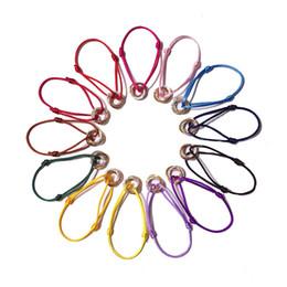 Три руки онлайн-Изысканный горячий продавать медь микро-покрытием три цвета любовь браслеты для женщин три кольца Кристалл цветной ручной веревки браслет
