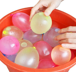 Ventes chaudes En Plein Air Ballon D'eau jouet Incroyable Magique Ballons D'eau Magiques Bombes Jouets pour Enfants Enfants Summer Beach L'eau Sprinking Ballons Jeux ? partir de fabricateur