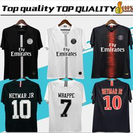 573271f272f235 2018 2019 PSG jordan third maillot MBAPPE soccer jersey CAVANI VERRATTI top  thailand 18 19 paris football shirt KIMPEMBE Camiseta de futbol