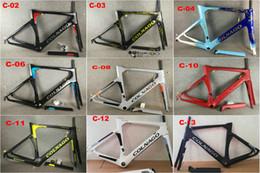 frame da bicicleta da estrada da fibra do carbono 48cm Desconto Colnago CONCEITO quadro 12 CORES quadro de bicicleta de quadro de carbono quadros de carbono cor preta quadros de design