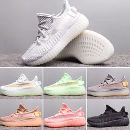 adidas yeezy 350 V2 Static Designer-Schuhe Kinder 2019 Static Sesame Butter Kanye West v2 Trainer Zebra Laufschuhe True Form Beluga Moonrock Oxfod Tan Pirate TRFRM von Fabrikanten