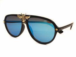 Vente chaude 2019 luxe nouvelles femmes lunettes de soleil Personnalité mode grande abeille decoraction rétro marque design protection UV lunettes top qualité ? partir de fabricateur