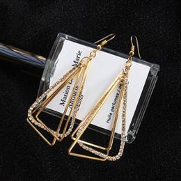 joyas de dinosaurio de oro Rebajas 2019 lujo dinosaurios Stud diseñador pendientes para las mujeres de gran tamaño moda Chandelier Chandelier cuelga los pendientes de plata chapado en oro de joyería