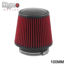 2019 filtro de ar de admissão Universal 100mm e 160mm de altura Cold Air Intake sistema de arrefecimento do Filtro de Ar N-AF001-100 desconto filtro de ar de admissão