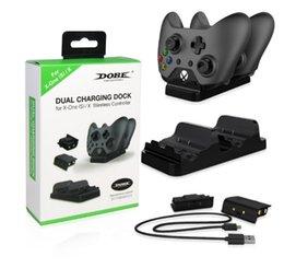 Xbox One / Xbox One S Denetleyici Şarj Cihazı - 2 Şarj Edilebilir Pil Paketi ile Çift Şarj İstasyonu İskelesi nereden sallamak kafa arabası tedarikçiler