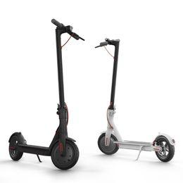 Электрические скутеры бесплатно онлайн-Xiaomi Mijia M365 Электрический скутер Скейтборд Складной скутер на ховерборде со светодиодной подсветкой 30 км Пробег UPS Бесплатная доставка