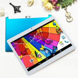 tablette chinoise 64gb Promotion 10,1 pouces Quad Core 1G 16G Android 6.0 WiFi Tablet PC Caméra double carte SIM IPS Bluetooth MKT6580 Appel 3G Tablet Tablet