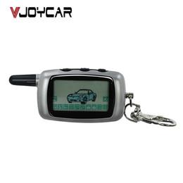 Canada tas Intrusion voiture Larm 9 porte-clés LCD clé fob chaîne Télécommande Pour Starline A9 / A6 / A8 / Twage Deux voies de voitures Systèmes d'alarme Auto Electro ... Offre