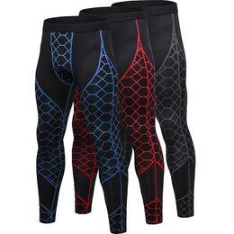 Pantalones deportivos de secado rápido para hombre para hombre Pantalones de jogging de alta elasticidad para hombres Entrenamiento al aire libre Pantalones deportivos ajustados Polainas para hombre Fitness desde fabricantes