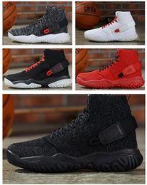 2019 hermosos zapatos altos Los mejores hombres streetwear hombres Apex-React zapatillas altas de baloncesto, zapatillas de deporte para hombre Zapatillas de entrenamiento de diseñador, hermosas zapatillas de goma de informe simple hermosos zapatos altos baratos