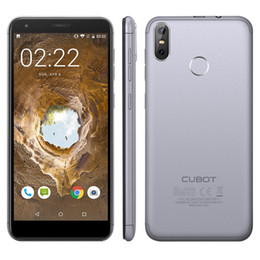 CUBOT R11 3G Cep Telefonu Android 8.1 MTK6580 Quadcore Parmak İzi Tüm Ekran 5.5-inç 2 + 16 GB Çift Arka Cameras13 + 2MP Cep Telefonu nereden