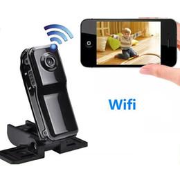 Remoto para ipad on-line-Mini Wifi Câmera Remota para Iphone Android Ipad PC Mini Câmera de Vigilância Sem Fio P2P Mini Babá Cam MD81 MD81S