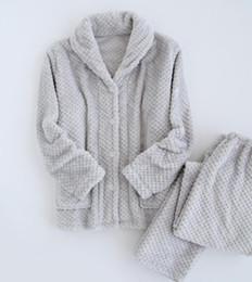 Ananas automne et hiver pyjama amant flanelle amitié hommes porter des dames chaud couple épaississement ? partir de fabricateur
