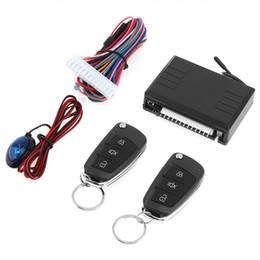 Entrada sem chave hyundai on-line-DC12V Sistema de Alarme de Carro Auto Sistema de Entrada sem chave Do Carro com Controle Remoto Fechadura Da Porta Automaticamente para Hyundai