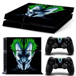 2019 calcomanías para xbox one Playstation 4 skins para DC Comic Joker Cover Controlador de sistema de consola de protección PS4 Slim Good Kids Friends Gift